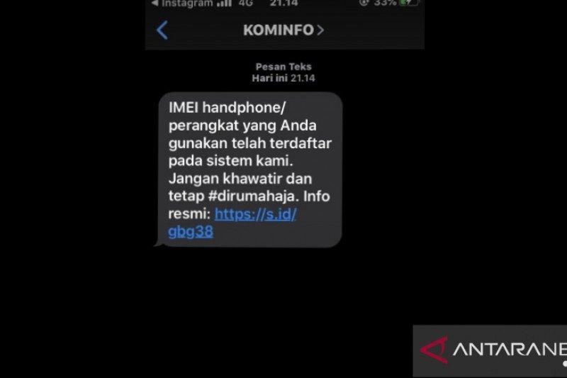 Kominfo mulai kirim sms notifikasi ke Ponsel dengan IMEI terdaftar