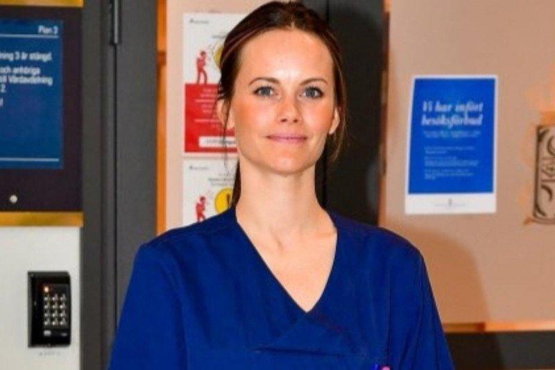 Putri Sofia jadi relawan medis COVID-19 di rumah sakit di Swedia
