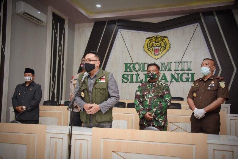 Gubernur Jabar sebut persiapan PSBB Bandung Raya sudah 100 persen