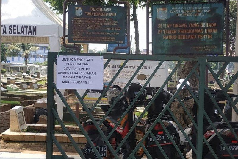 TPU di Jaksel batasi peziarah jelang Ramadhan