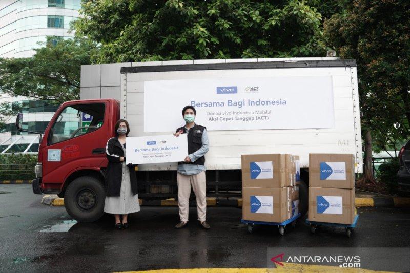 Vivo dan ACT salurkan bantuan 150 ribu masker ke warga prasejahtera