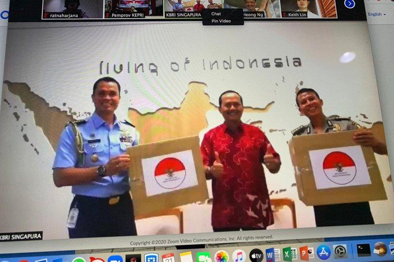 Temasek Singapura bantu 3 juta masker medis untuk Indonesia