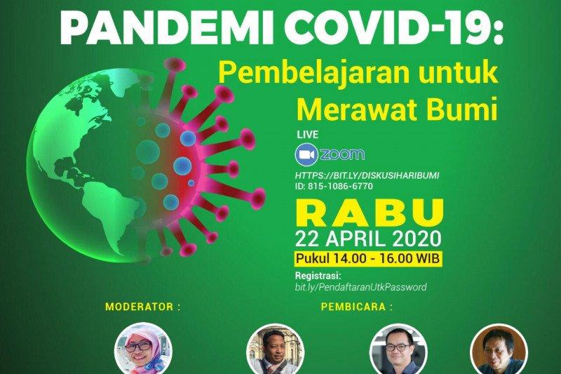 Penggiat lingkungan: Pandemi COVID-19 pembelajaran untuk merawat bumi