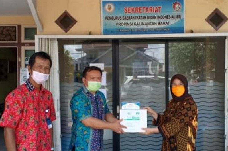 Ikatan Bidan Indonesia Kalbar dibantu ribuan APD oleh BKKBN