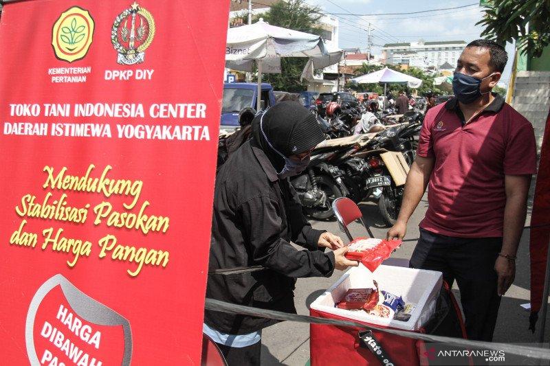 Ramadhan, Pasar mitra tani Yogyakarta alami kenaikan permintaan pangan