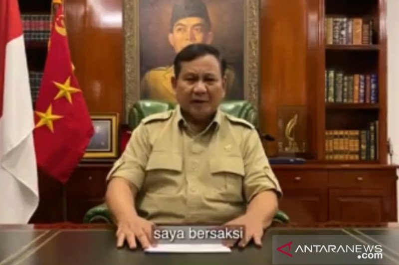 Prabowo: Keputusan Jokowi untuk rakyat paling miskin dan lemah