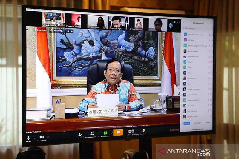 Soal Corona, Mahfud tegaskan Pemerintah sudah serius sejak awal