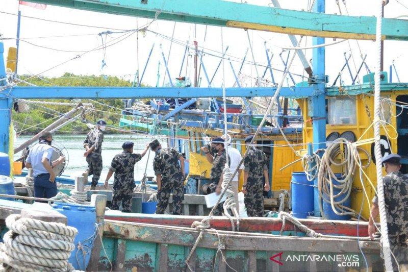 KKP amankan dua kapal ikan asing di Laut Natuna Utara