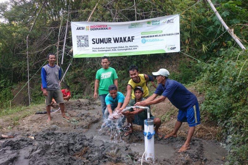 ACT DIY perbanyak pembangunan sumur wakaf menjelang musim kemarau