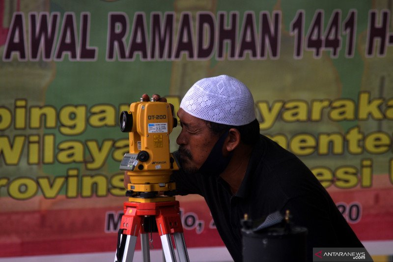Pengamatan hilal Ramadhan oleh OAIL ITERA bisa diakses lewat medsos