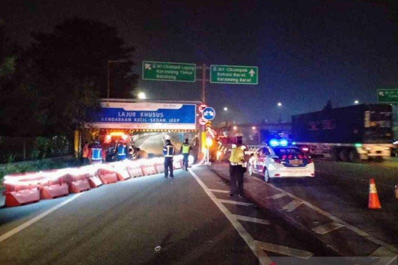 Jasamarga dukung penyekatan Tol Jakarta Cikampek