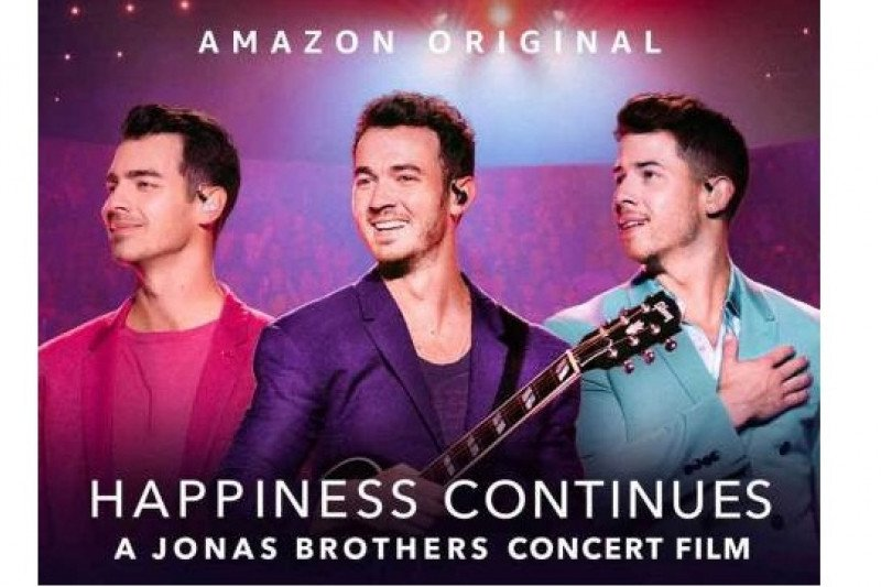 Jonas Brothers terus bahagiakan para penggemarnya dengan dokumenter konser baru yang tayang perdana Jumat 24 April 2020 hanya di Amazon Prime Video