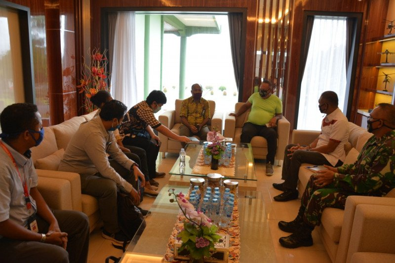 Pangdam XVII/Cenderawasih menerima kunjungan Komnas HAM Papua