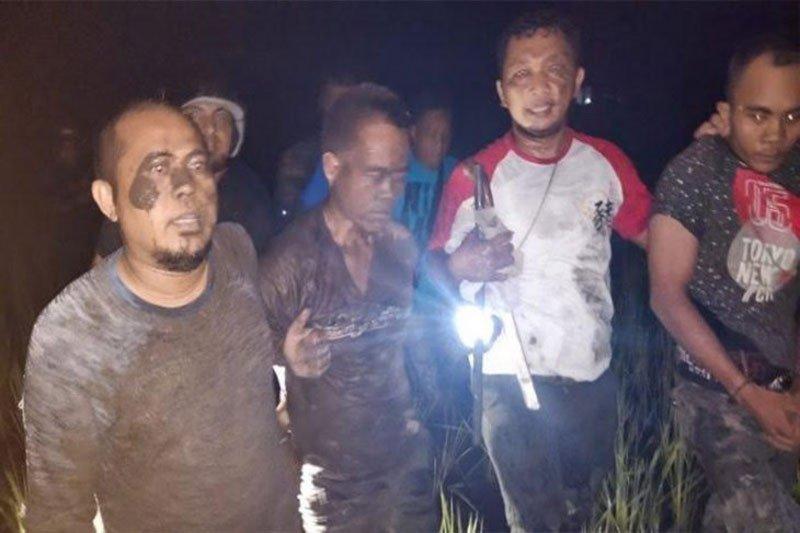 Polisi meringkus tiga tahanan kabur dari Rutan Kapuas