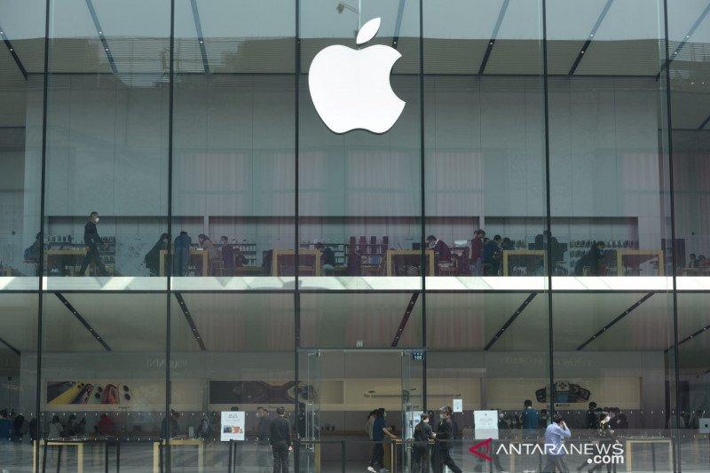 Apple perlahan buka toko di AS