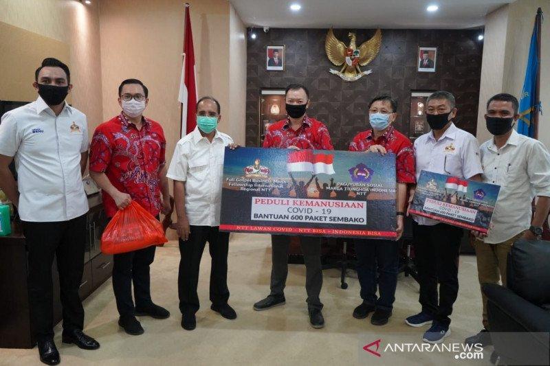 Presiden Jokowi bantu 5.000 paket sembako ke Kota Kupang