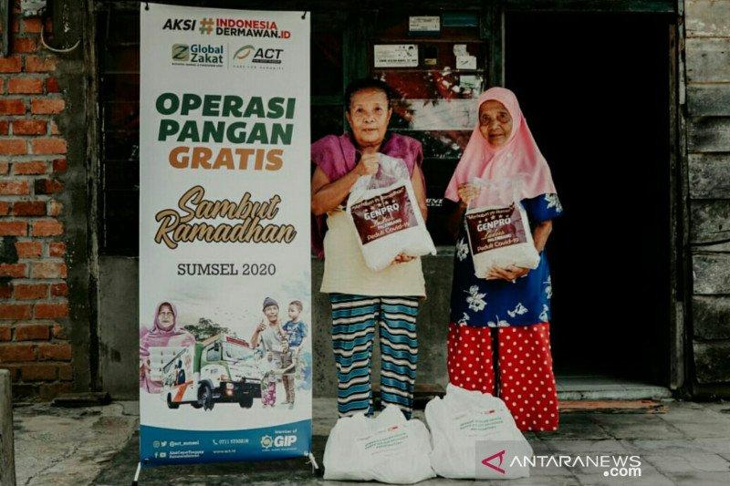 ACT Sumsel fokus salurkan bantuan paket pangan untuk prasejahtera