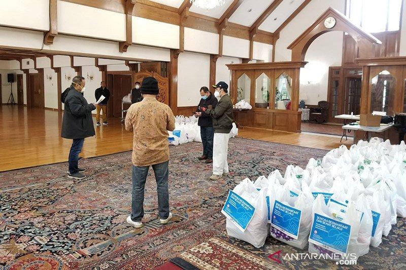 KBRI Washington DC salurkan ratusan paket sembako untuk WNI di AS