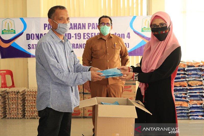 Aceh beri bantuan sembako untuk mahasiswa asing