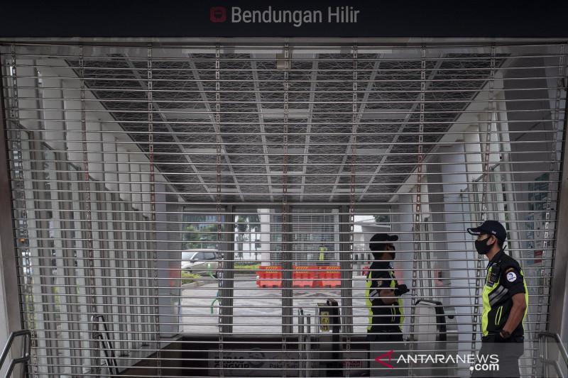 Stasiun MRT Bendungan Hilir ditutup sementara