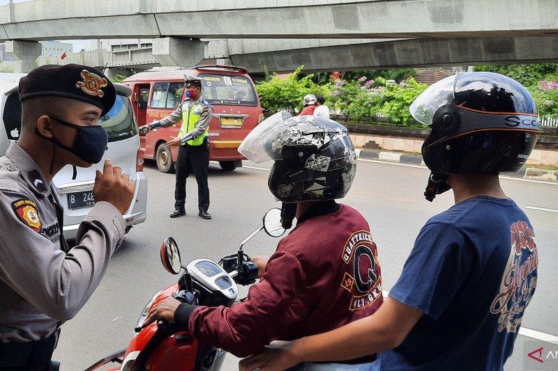 Satlantas Polrestro Jaksel klaim angka kecelakaan turun selama PSBB