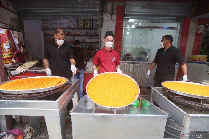 Penganan manis tradisional khas bulan Ramadhan di Kota Rafah