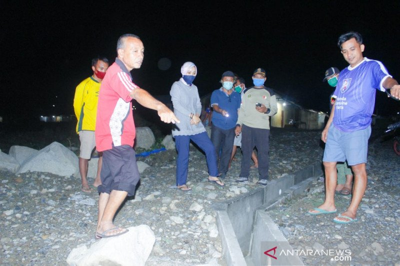 Pengungsi korban bencana 2018 di Balaroa diterjang banjir