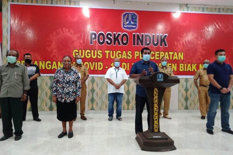 Ketua Gugus Tugas: Delapan warga Biak Numfor positif COVID-19