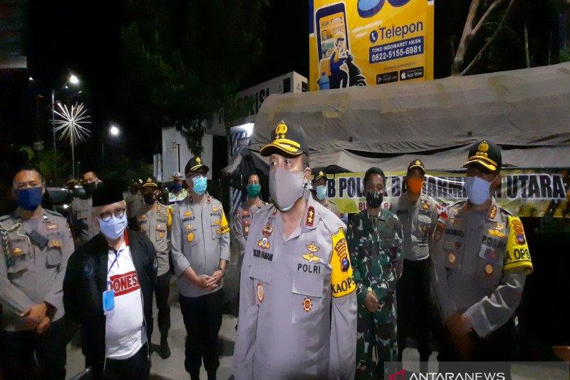 Kapolda Kalsel pantau penerapan jam malam PSBB Banjarmasin
