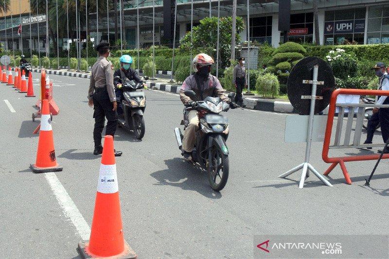 Lalu lintas di 17 akses keluar masuk Kota Surabaya lancar