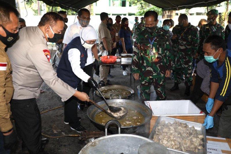 Gubernur Jatim usul UMKM dilibatkan siapkan makanan siap saji