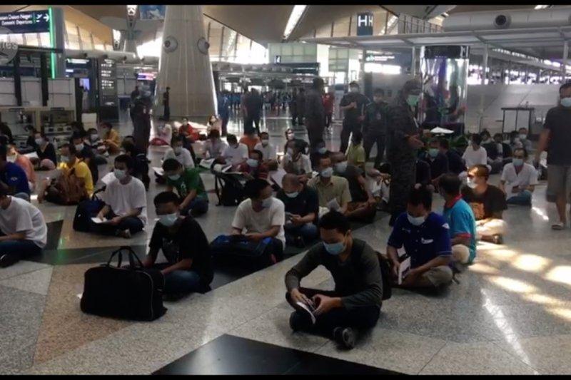 Dalam dua hari, 1.038 TKI Malaysia dipulangkan ke Tanah Air
