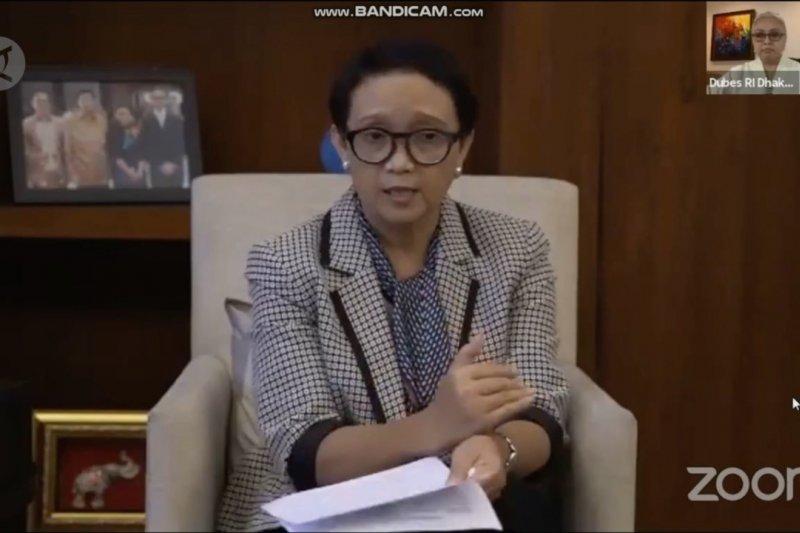Menlu apresiasi peran perempuan diplomat saat pandemi