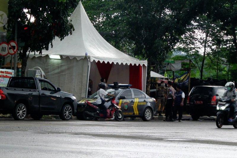 Pos pantau mudik didirikan di perbatasan Tangsel - Tangerang