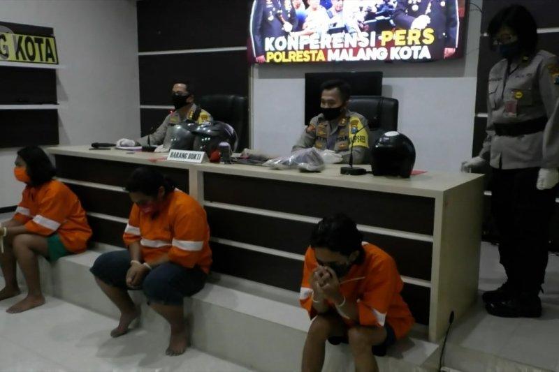 Polresta Malang Kota amankan 3 terduga pelaku vandalisme provokatif