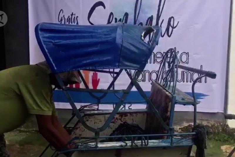 Askrindo gandeng IJTI-AJI bagikan sembako gratis untuk warga terdampak COVID-19