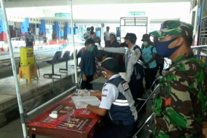 Pengawasan pemudik di Terminal Giwangan Yogyakarta diperketat