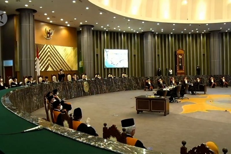 Muhammad Syarifuddin terpilih sebagai Ketua MA periode 2020-2025