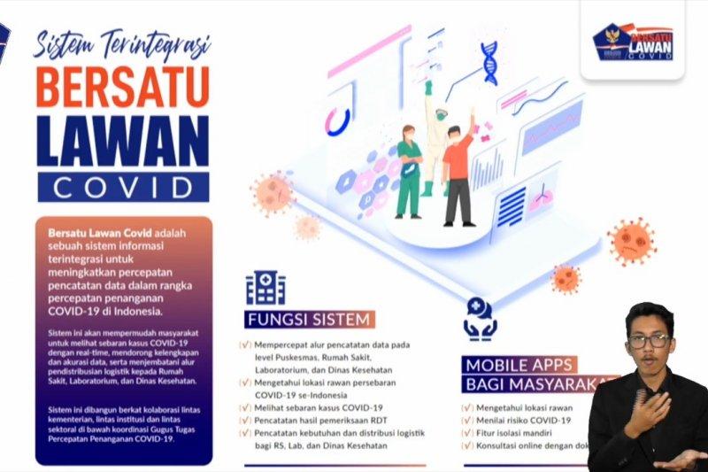 Indonesia bentuk sistem integrasi data COVID19