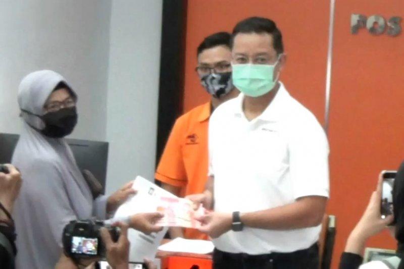 Mensos serahkan bantuan tunai ke warga Kabupaten Tangerang