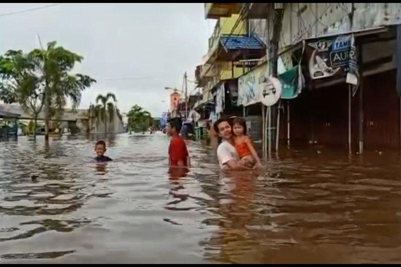 Ratusan rumah di Barito Utara terendam banjir