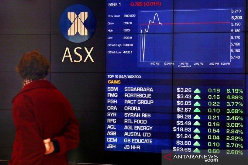 Saham Australia dibuka sentuh rekor tertinggi, ditopang ekonomi tumbuh