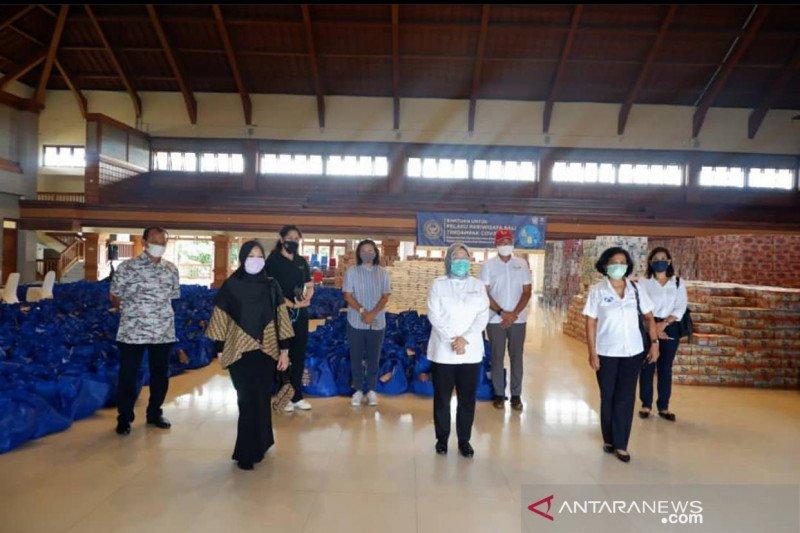 Sekolah pariwisata gelar aksi peduli lawan COVID-19 saat hardiknas