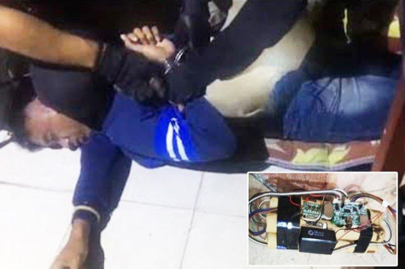 Polisi Seruyan tangkap pelaku teror bom di Masjid Nurul Yaqin