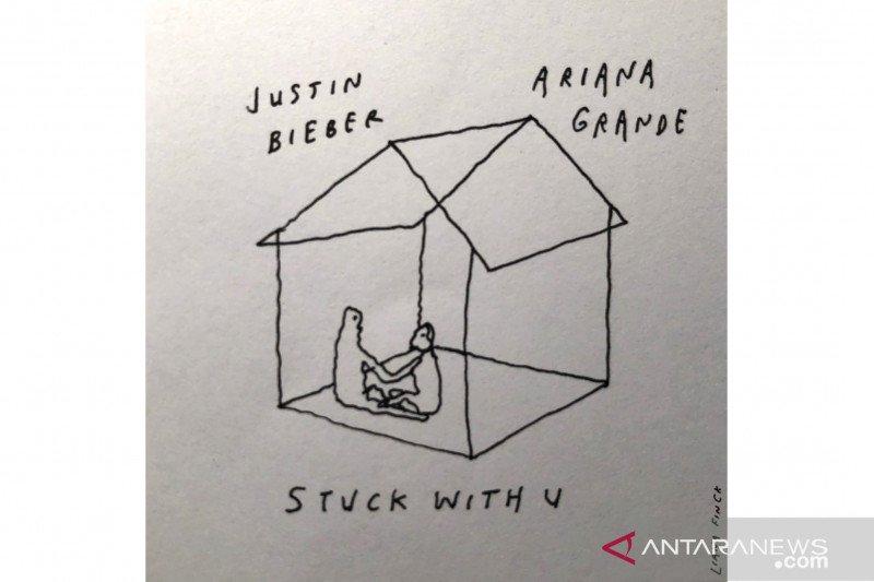 Justin Bieber dan Ariana Grande buat lagu duet