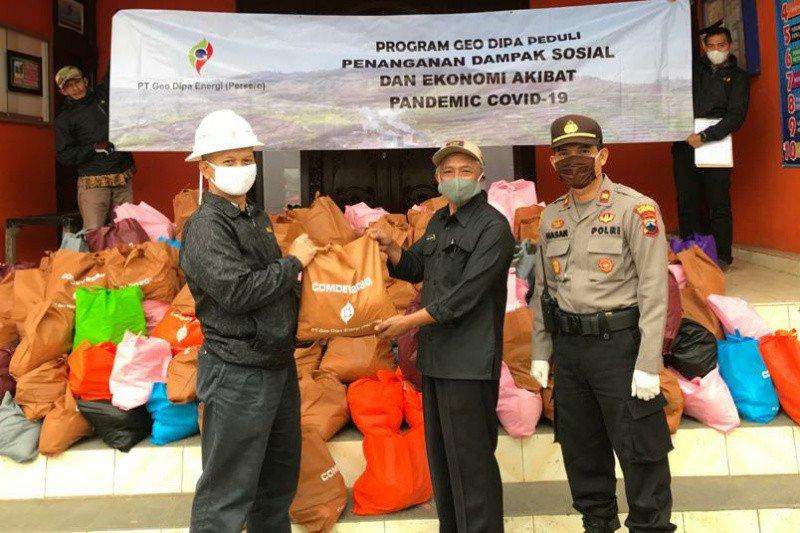 Geo Dipa Unit Dieng salurkan bantuan pangan dalam rangka Ramadhan