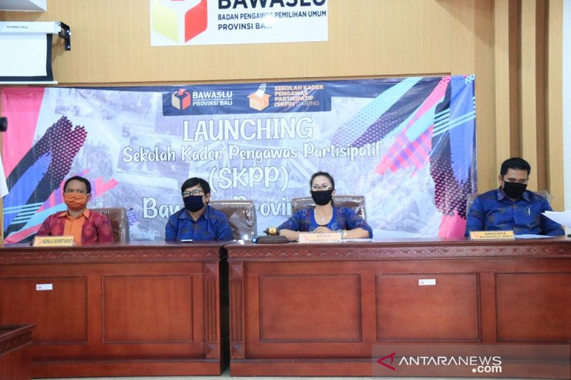Bawaslu Bali luncurkan Sekolah Kader Pengawas secara daring