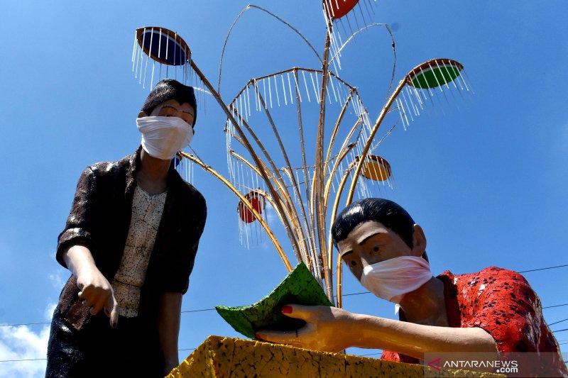 Libatkan 200 penjahit, Perempuan Tangguh kampanye penggunaan masker