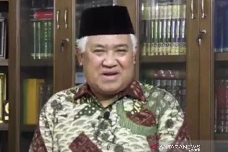 Din Syamsudin ajak masyarakat saling membantu amalkan ajaran Quran