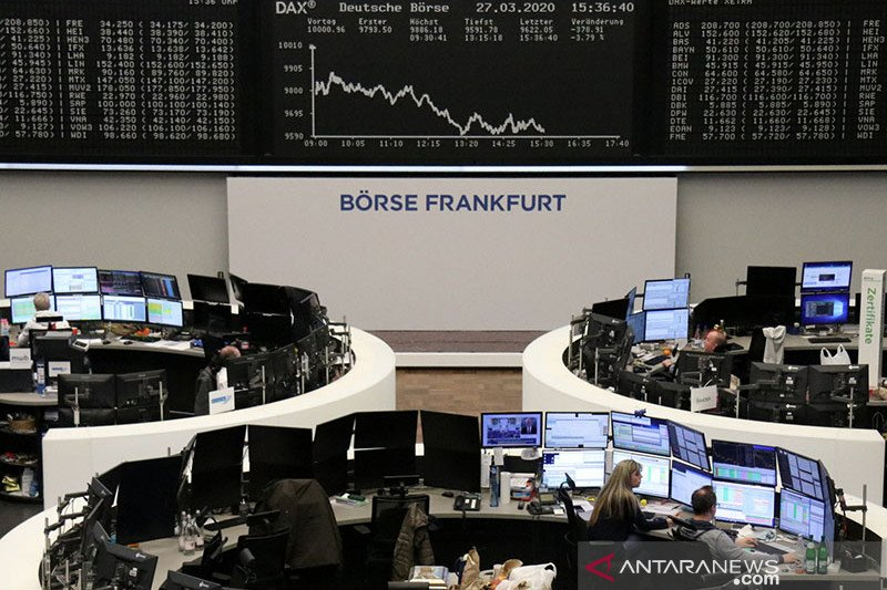 Saham Jerman terkoreksi dengan indeks DAX 30 terpangkas 0,73 persen